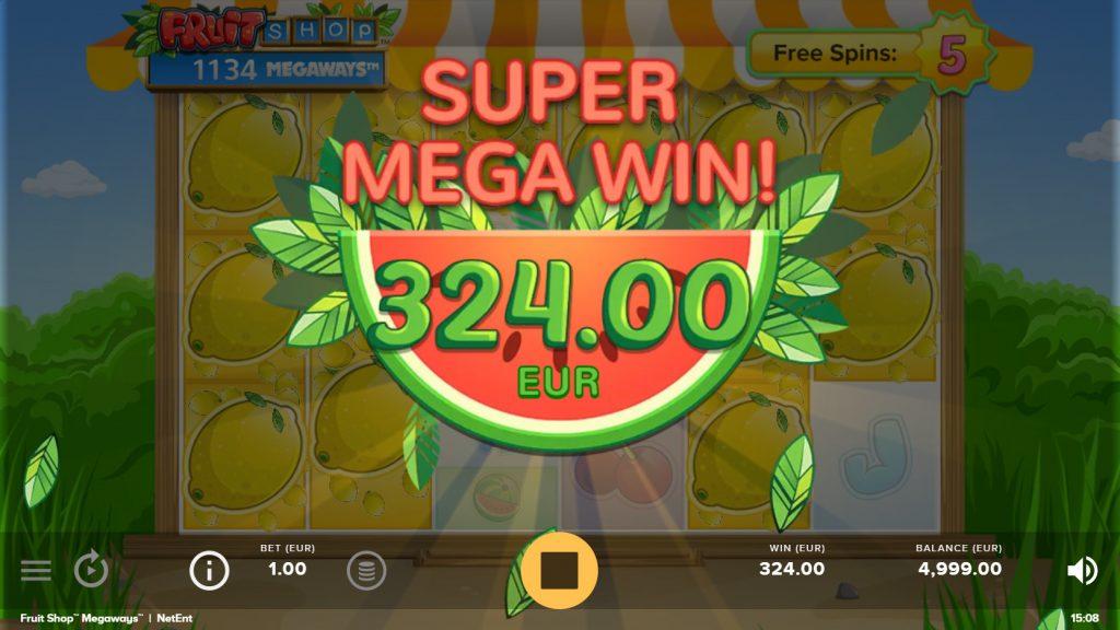 Fruit Shop Megaways Super Mega Win | IndiaSlots