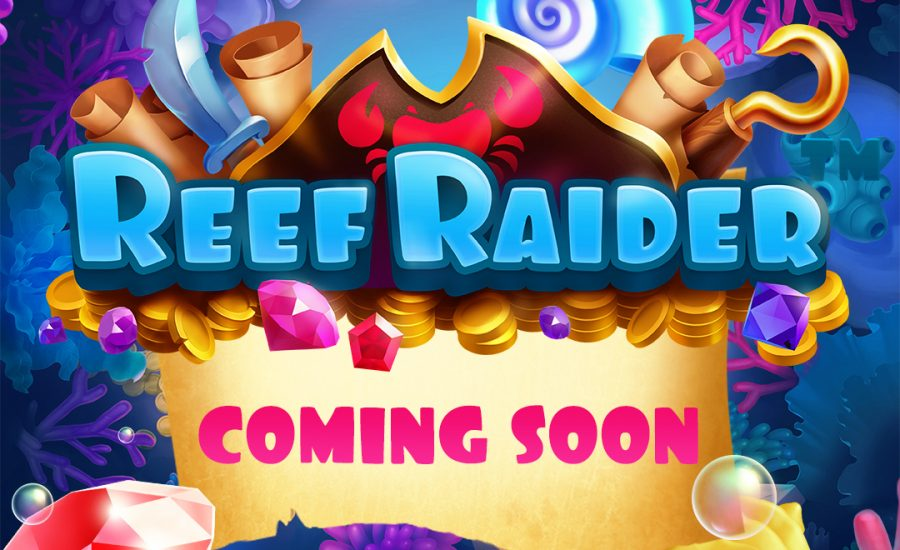 New Slots Preview | Reef Raider | NetEnt